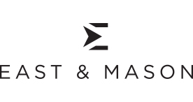 East and Mason Logo