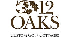 12 Oaks Golf Cottages Logo